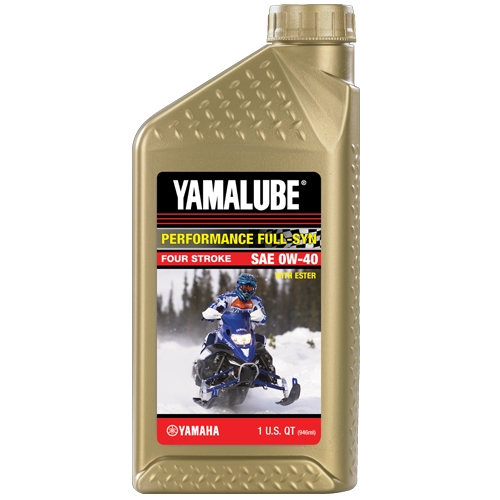 Yamalube 4Stroke Synthetic 0-40W Quart