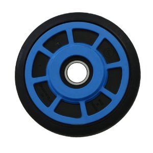 "Polaris Idler Wheels  6.375"" O.D. X .25mm"" I.DPD416817 Blue"
