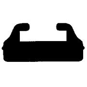 "Ski-Doo (Profile B) 51 3/4"" Slides Black"