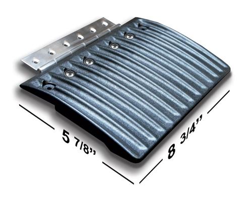 Caliber Edge Glides Double Set4 pieces w/hinges