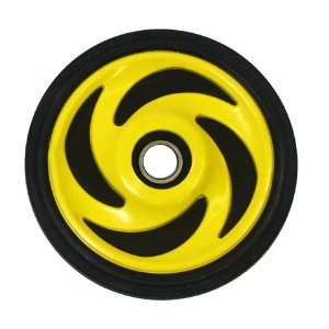 "Polaris Idler Wheels  5.38"" O.D. X .25mm"" I.DPD4300324 Screaming Yellow"
