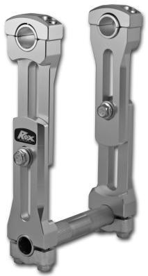 "Rox 6""-8.25"" Height Adjustable Snowmobile Handlebar RisersFor Snowmobiles & Wrenchless kits"