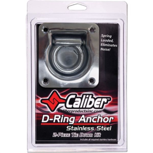 Caliber D-Ring Stainless Steel Anchors