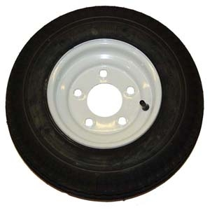 Trailer Tires and Wheels 4.80 X 12  5 Hole