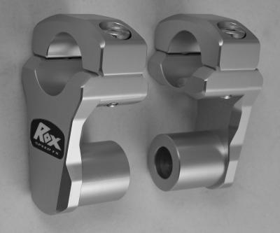 Rox 3.5 inch  Patented Pivoting Snowmobile Handlebar Risers