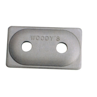Woody's Double Digger Support Plates (Aluminum)48count