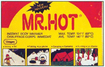 Mr. Hot Instant Body Warmers