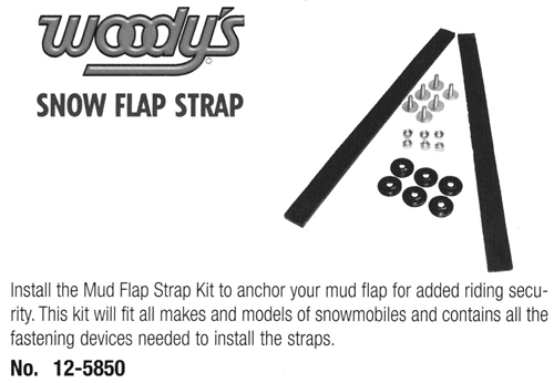 Snow Flap Strap by Woody's