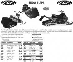 Snow Flaps